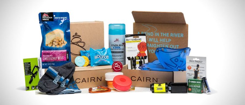 Collection of three Cairn subscription boxes