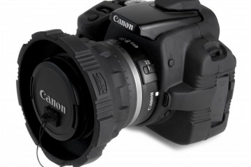 Camera Armor on Canon XTi DSLR Camera