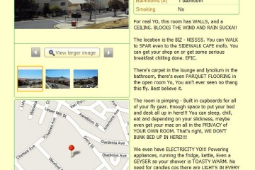 Best Apartment Rental Ad Ever, Cape Town