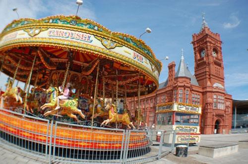 Cardiff Bay Carousel