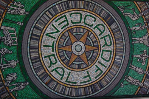Cardiff Centrale Mosaic