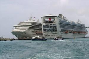 Carnival Cruise Ships in St. Maarten