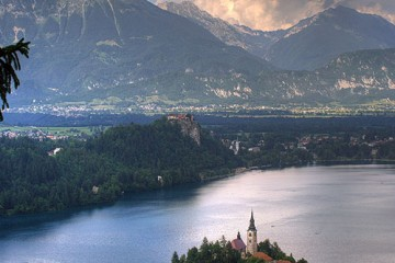 Castle in Bled, Slovenia