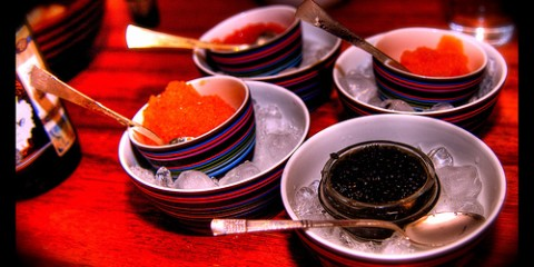 Caviar in Helsinki, Finland