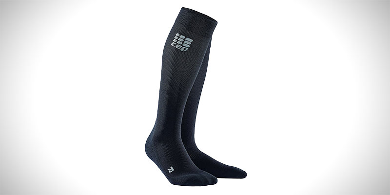 CEP Compression Men's Recover+ Merino Travel Socks