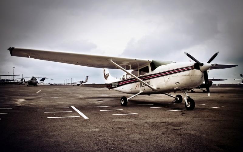 Cessna 206 Light Aircraft in Lima, Peru