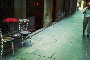 Chair Alley, Barcelona