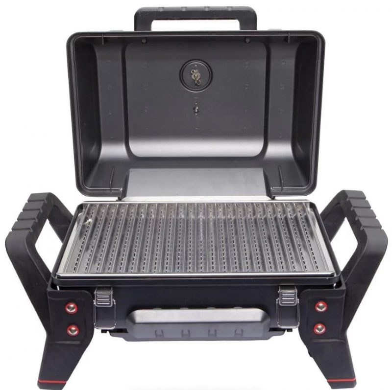 Char-Broil Grill2Go X200 Portable Gas Grill (open)