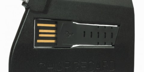 CHARGECARD Compact Travel Charger (iPhone)