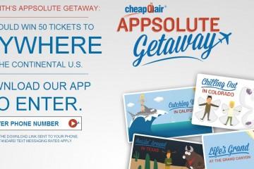 CheapOair's APP-solute Getaway