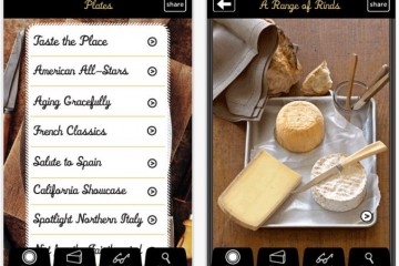 'Cheese Plate' Mobile App