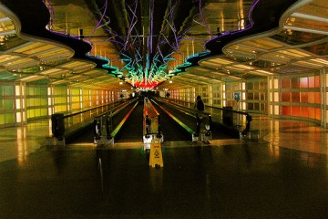 (Not the) Tunnel of Truth, O'Hare Airport