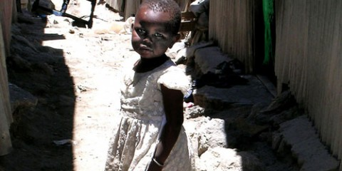 Child in the Jesus Slum, Nairobi