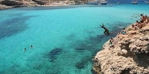 Cliff Diving, Malta