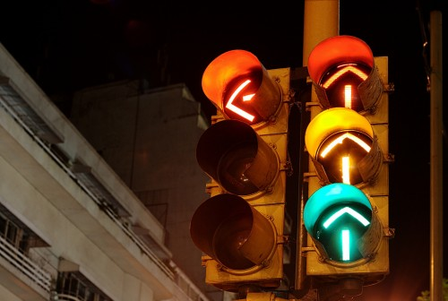 Confusing Traffic Signals, Buenos Aires