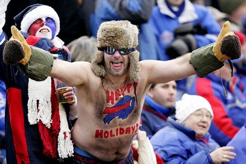 Crazy Buffalo Bills Fan