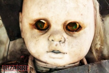 Creepy Doll from Island of the Dolls, Mexico