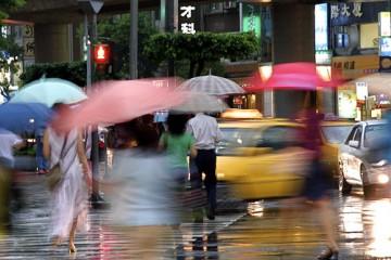 Crossing in the Rain, Taipei