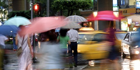 Crossing in the Rain, Taipei
