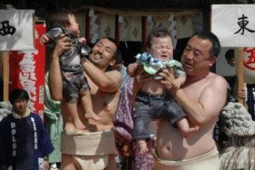 Crying Sumo Baby Contest, Japan