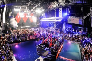 Dance Floor and Swimming Pool at Privilege Nightclub, Ibiza, Spain