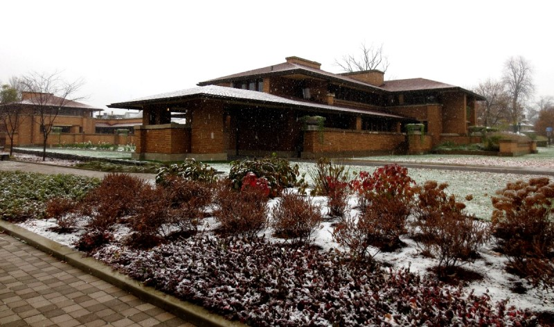 Frank Lloyd Wright's Darwin Martin House in Buffalo, New York
