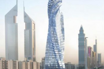 Building in Motion, Dubai