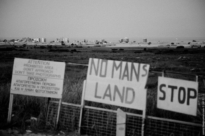 No Man's Land of Dherinia, Famagusta District, Cyprus