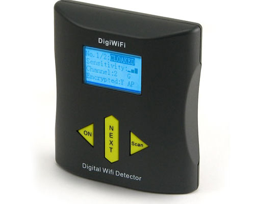Third Generation Digital WiFi Detector