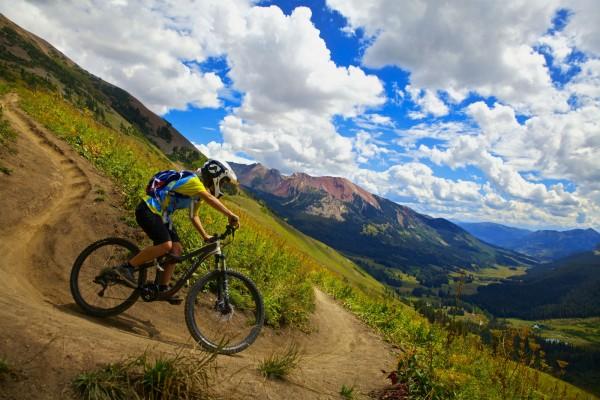 Downhill Biking in Crested Butte, Colorado