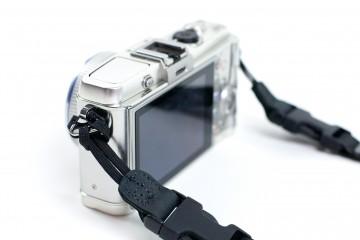 DSPTCH Camera Strap (closeup)