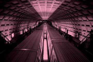 Dupont Circle Metro Station in Washington, D.C.