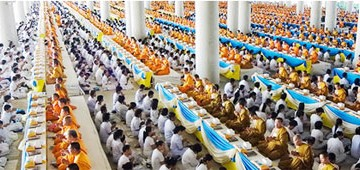 The Assembly of 100,000 Monks