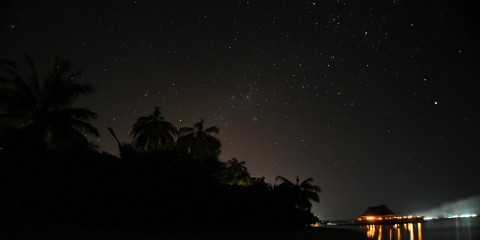 Earth Hour in Bandos Maldives