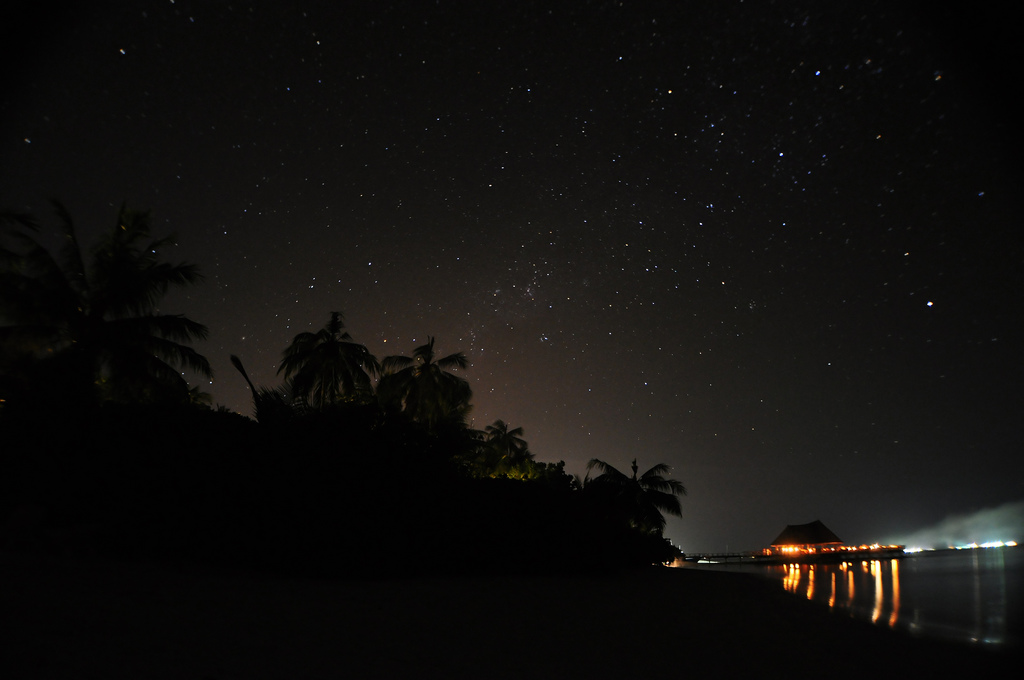 Earth Hour in Bandos Maldives