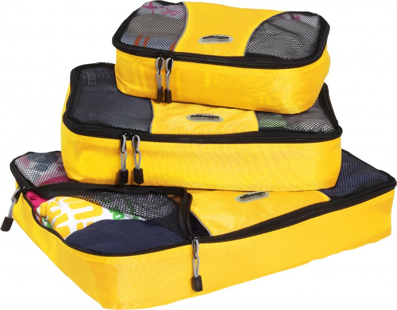 eBags Packing Cubes (yellow - set of 3)