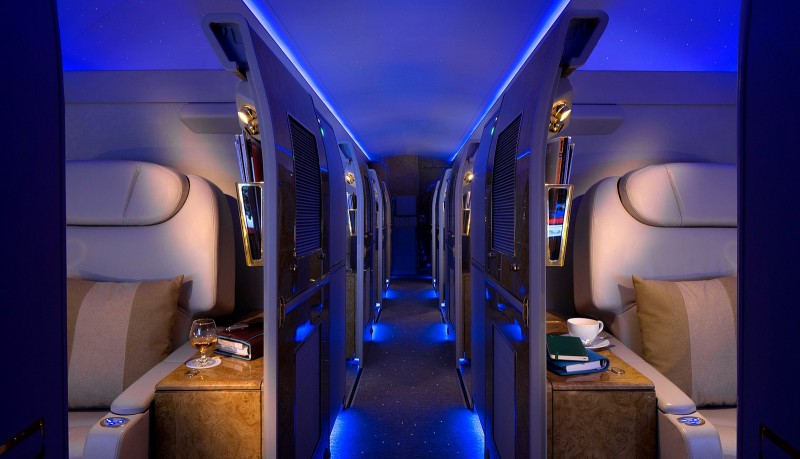 Emirates Luxurious Private Jet Service