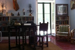 Writing desk in Ernest Hemingway's studio loft