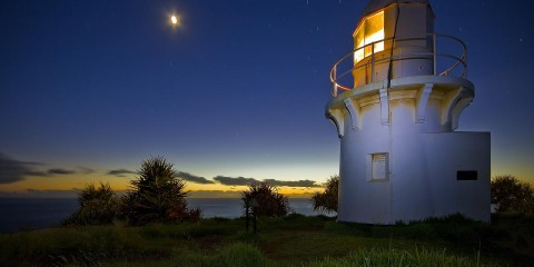 Fingal Head Light, New South Wales, Australia