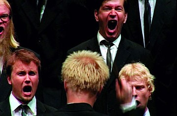 Finland's Shouting Men's Choir