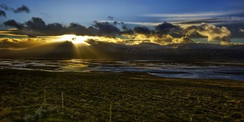 Fjord Sunset, Iceland
