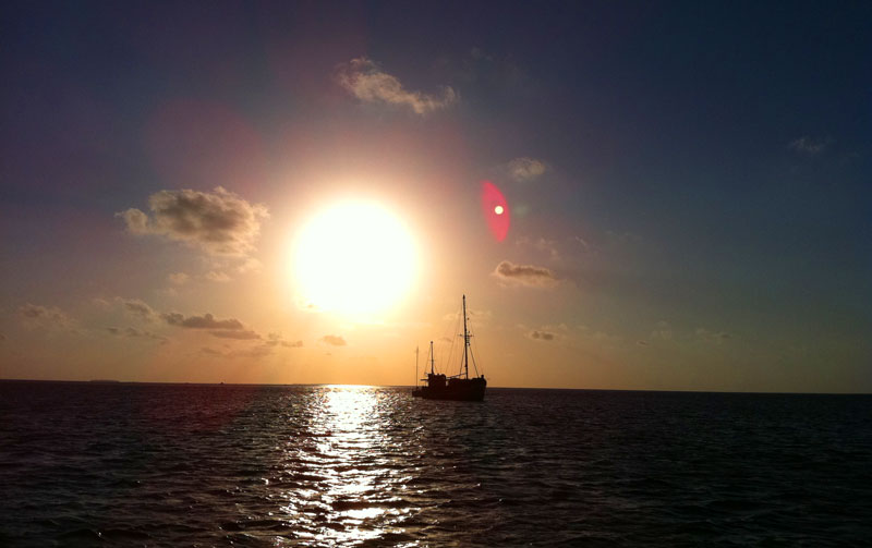 Key West Sunset from the Water