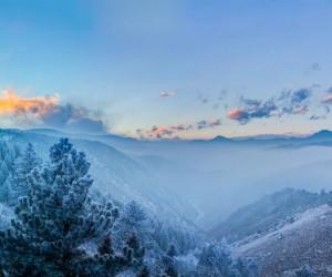 Fog in the Valley, Golden, Colorado