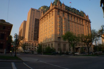 Fort Garry Hotel at Dawn, Winnipeg