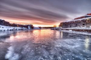 The Frozen Fortress of Helsinki, Finland