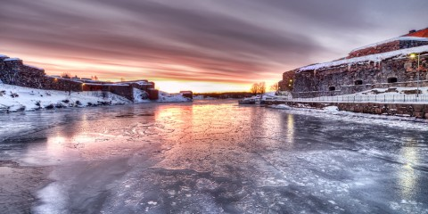 The Frozen Fortress of Helsinki, Finland