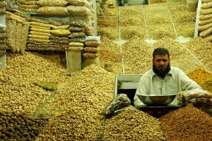 Dry Fruit Vendor in Peshawar, Pakistan