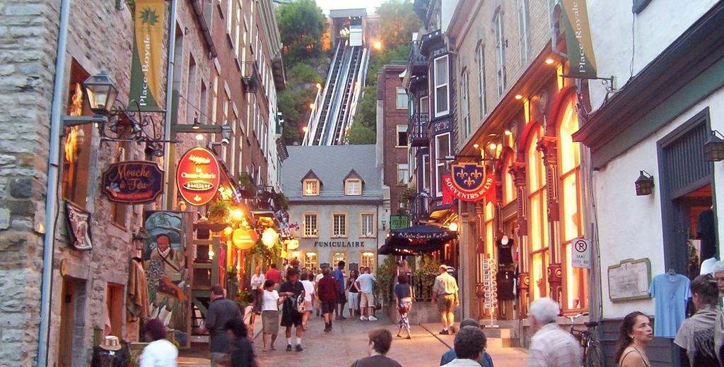 Funiculaire, Quebec City, Canada