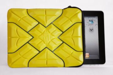 G-Form iPad Extreme Sleeve 2 Case (yellow)