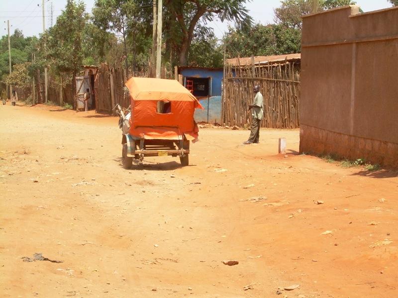 Horse-Drawn Taxi (gari) in Negelle Borena, Ethiopia